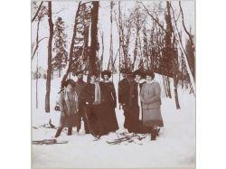 Село зимой фото