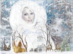 Фото зима и девушка