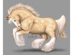 Прикольные рисунки лошади