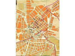 Карта города с улицами 9
