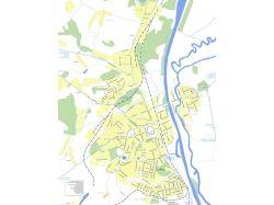 Карта города с улицами 5