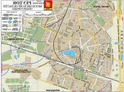 Карта города с улицами 6