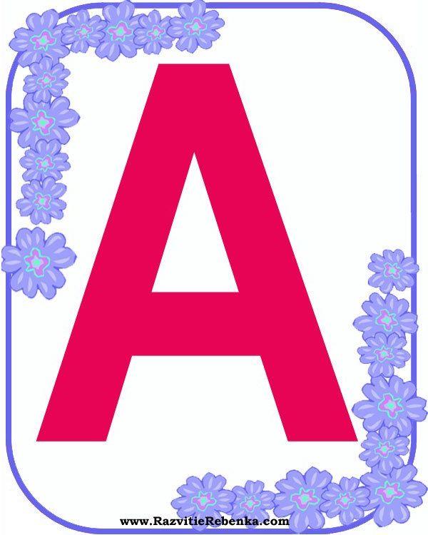 Обои буквы