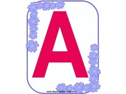 Красивые буквы алфавита картинки