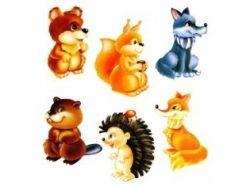 Картинки детенышей диких животных 6