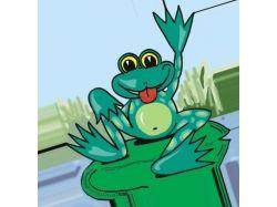 Лягушка картинки для детей