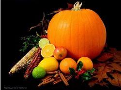 Овощи и фрукты натюрморт 1