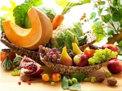 Овощи и фрукты натюрморт 2