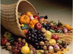 Овощи и фрукты натюрморт 7