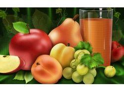 Овощи и фрукты натюрморт 8