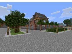 Minecraft фото домов