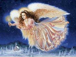 Рождественские картинки с ангелами