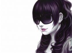 D картинки с очками