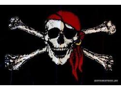 Фото пиратского флага