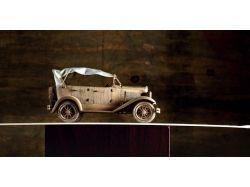 Модели автомобилей из дерева