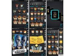 Тройные картинки на телефон samsung s5230