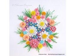 Квиллинг для начинающих цветы