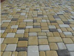 Тротуарная плитка старый город фото 5