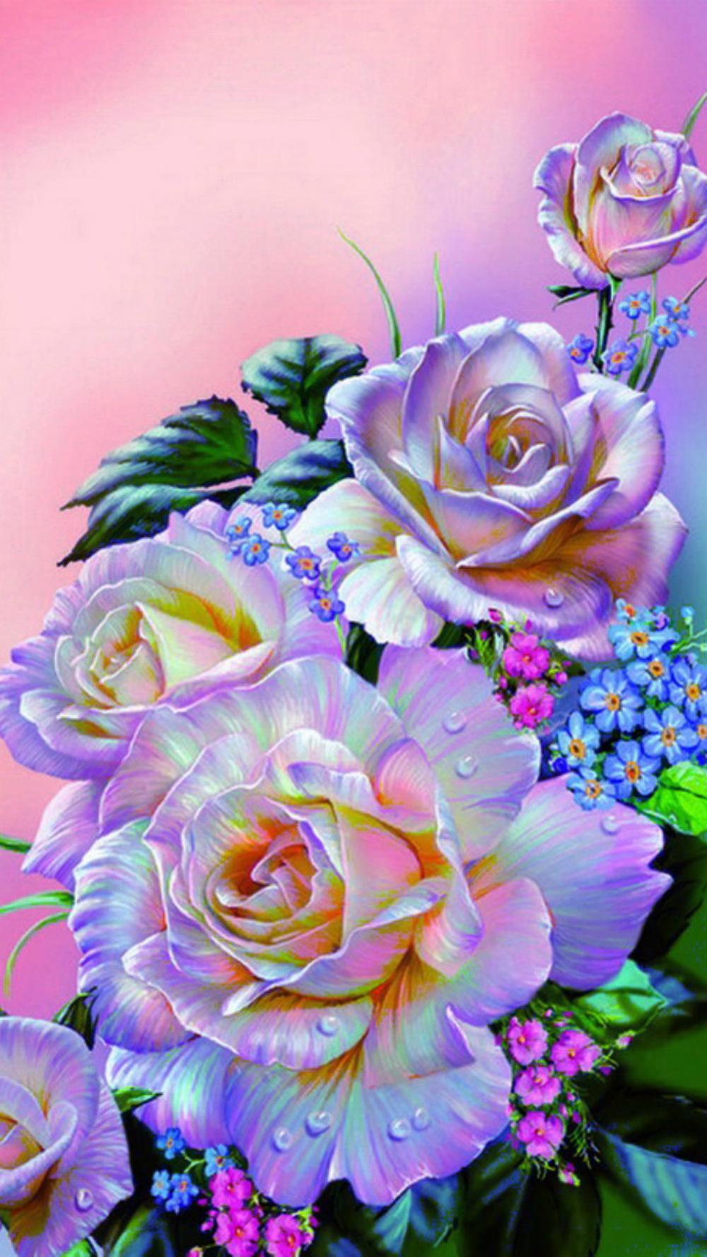 обои на телефон цветы картинки