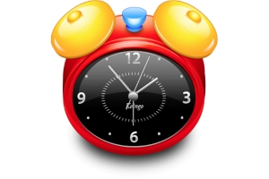 Заставка на комп часы 2