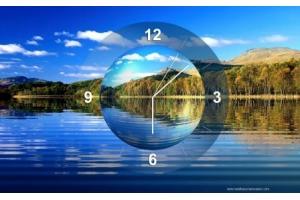 Заставка на комп часы 7