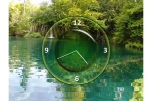 Заставка на комп часы 8