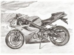 Мотоцикл урал рисунок