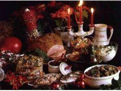 Рождественские блюда фото