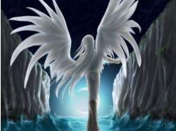 Аниме ангелы девушки картинки