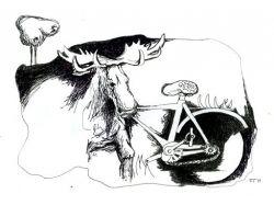 Рисунки абстракции черно белые