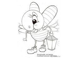 Насекомые рисунки для детей бабочки и пчелки 7
