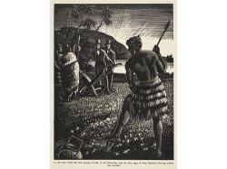 Оружие маори фото