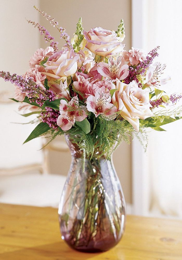 фотографии букет цветов фото в вазе квартире