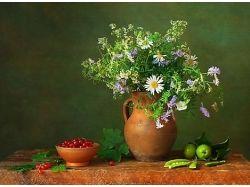 Фотографии цветы в вазе