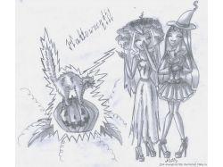 Хэллоуин рисунки карандашом