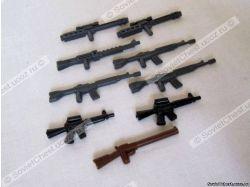 Оружие лего фото 7