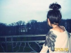 Красивые картинки брюнеток со спины