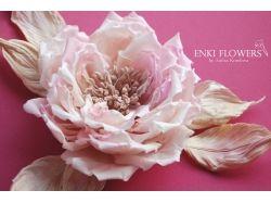 Картинки цветы из ткани