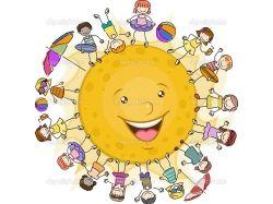 Рисунки на тему солнце воздух и вода наши лучшие друзья