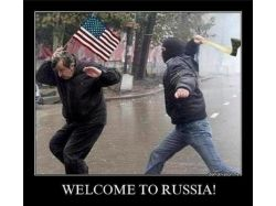 Демотиваторы welcome russia 6