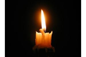 Фото свеча памяти