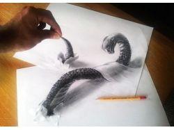 Как рисовать стереокартинки на бумаге