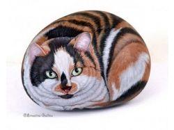 Животные рисунки на камне