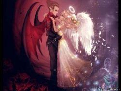 Картинки любовь ангела и демона