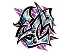 Абстрактные картинки тату 1