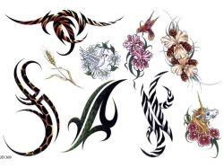 Абстрактные картинки тату 4