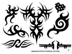 Абстрактные картинки тату 5
