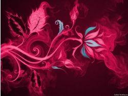 Фото абстракция цветы 7