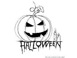 Как нарисовать рисунок на хэллоуин