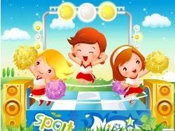 Картинки яндекс детей в спорте красивые